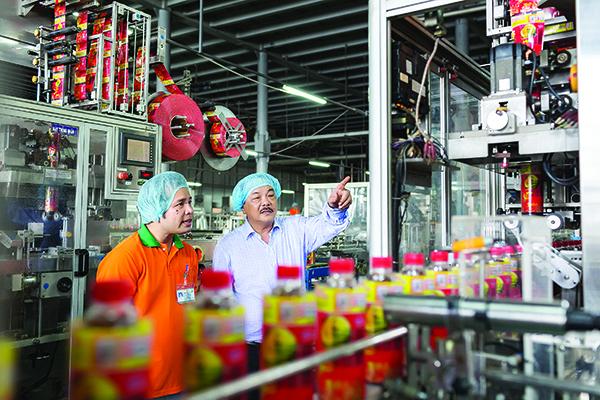 Quyết tâm Việc tạo ra ngành hàng mới với sự hỗ trợ tối đa từ công nghệ Aseptic đã giúp Tân Hiệp Phát ghi dấu ấn sâu đậm trong ngành. Họ trở thành doanh nghiệp Việt duy nhất cùng với PepsiCo và Coca Cola tạo thành thế chân vạc trên thị trường nước giải khát.