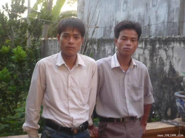 Quản Đắc Thúy (SN 1979), Quản Đắc Quý (SN 1981, đều trú tại xã Vân Côn, huyện Hoài Đức, TP Hà Nội).