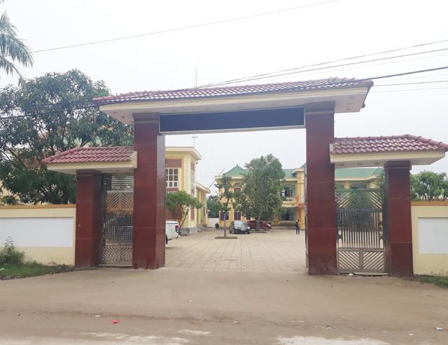Trụ sở UBND xã Nghi Quang.