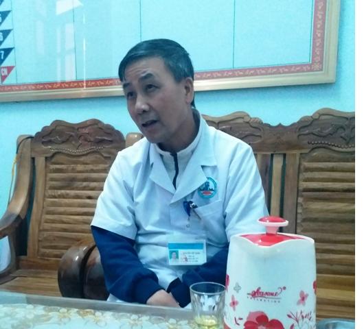 Phó Giám đốc Trung tâm y tế huyện Tân Kỳ - Nguyễn Viết Xuân: