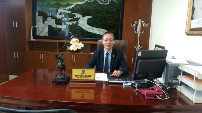 Đại biểu Quốc Hội Nguyễn Văn Chiến.