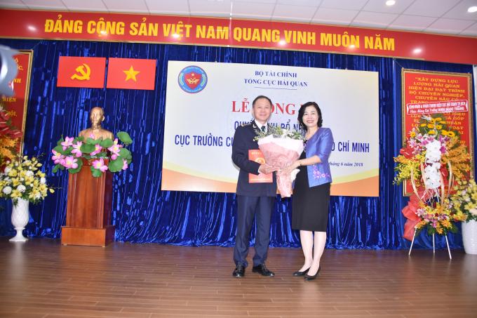 Ông Đinh Ngọc Thắng được bổ nhiệm giữ chức Cụ trưởng Cục hải quan TP HCM.