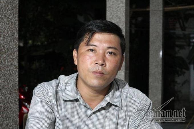 Trưởng thôn Lương Điền Nguyễn Hữu Phú.