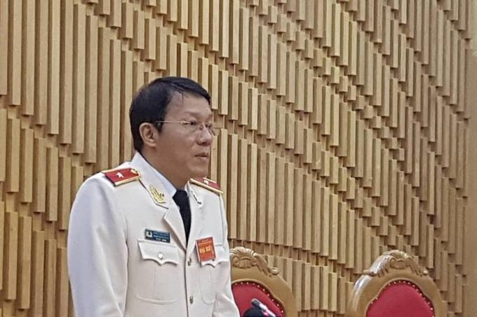 Thiếu tướng Lương Tam Quang.