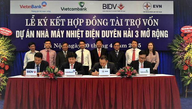 Vietcombank vừa đồng ý cấp khoản tín dụng 27.100 tỷ đồng để EVN khởi công Nhiệt điện Quảng Trạch.
