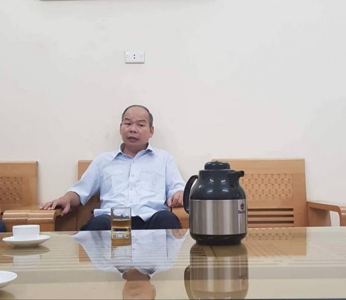 Ông Lăng Văn Hòa- Giám đốc Sở KHĐT Bắc Kạn: