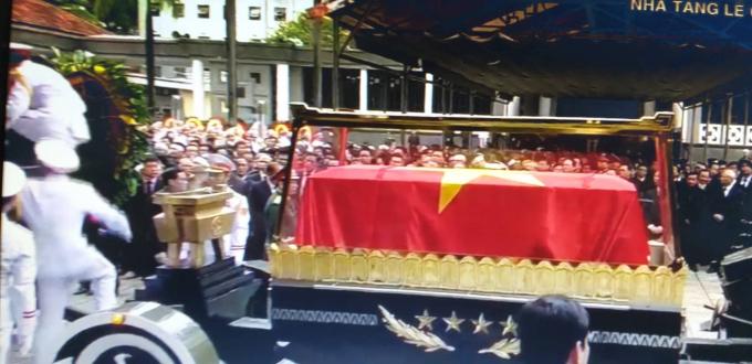 Chủ tịch nước Trần Đại Quang đã về với đất mẹ