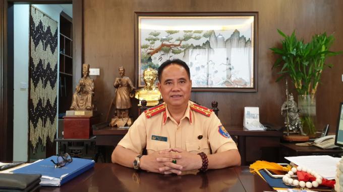 Đại tá Đào Vịnh Thắng nhận quyết định nghỉ hưu từ ngày 1/10.