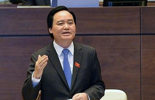 Cử tri Hà Nội đề nghị tiếp tục chất vấn Bộ trưởng GD-ĐT Phùng Xuân Nhạ - Ảnh: Quochoi