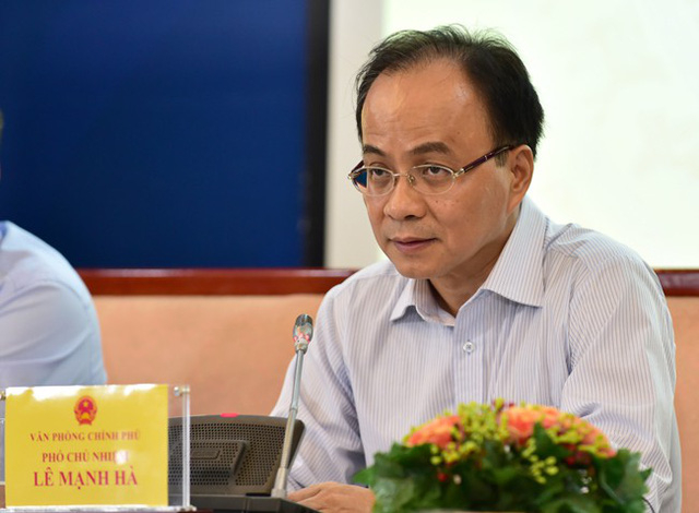 Ông Lê Mạnh Hà - nguyên Phó Chủ nhiệm Văn phòng Chính phủ.