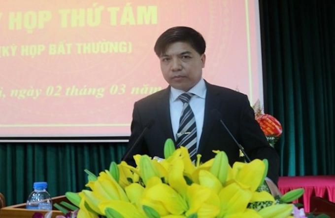 Ông Đỗ Huy Chiến, nguyên PCT UBND quận Long Biên