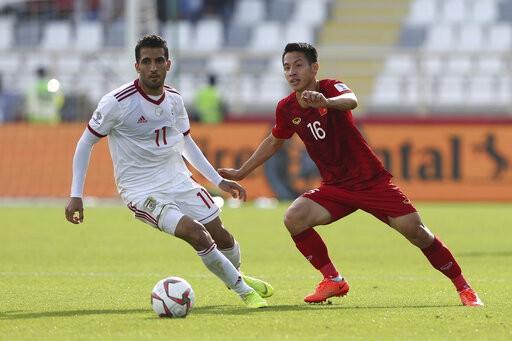 Đội tuyển Việt Nam quyết thắng ở trận đấu cuối cùng vòng bảng, hòng giành vé vào vòng 1/8