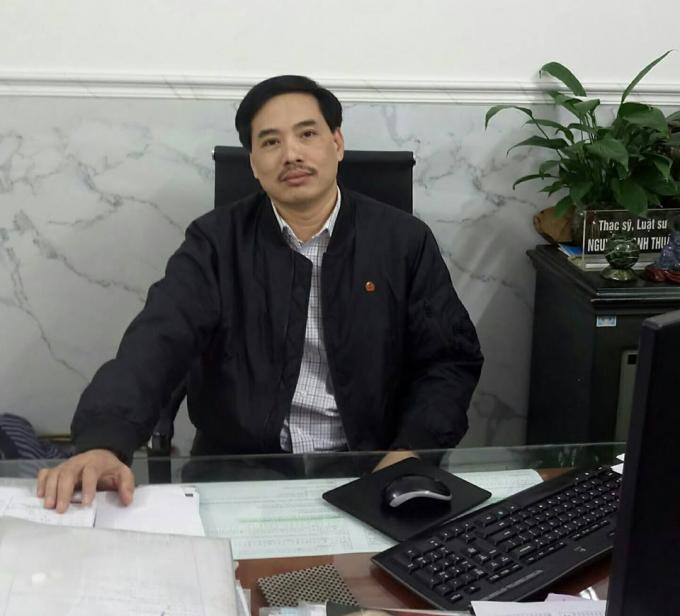 Thạc sĩ, Luật sư Nguyễn Mạnh Thuật trao đổi với PV Phapluatplus.vn.