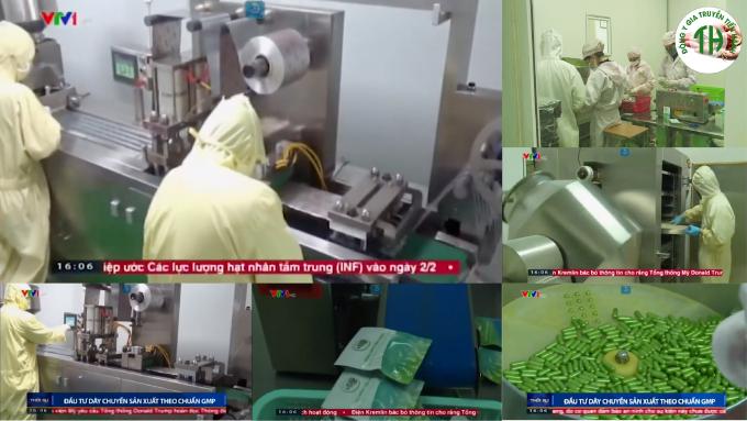 Toàn bộ sản phẩm của Tiến Hạnh sản xuất trên dây chuyền tiên tiến, hiện đại đạt chuẩn GMP.