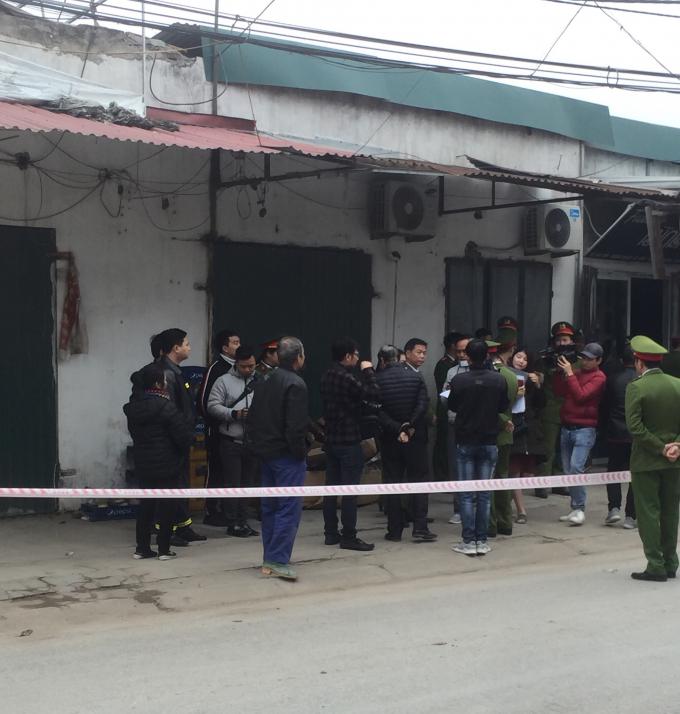 Lực lượng chức năng của huyện Gia Lâm tổ chức cưỡng chế nhà anh Thụy khiến gia đình anh bị thiệt hại nghiêm trọng.