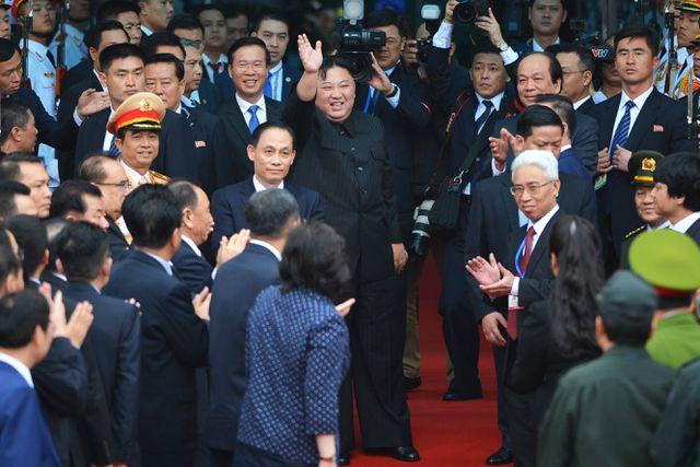Chủ tịch Triều Tiên Kim Jong Un cùng Đoàn đại biểu cấp cao Triều Tiên kết thúc tốt đẹp chuyến thăm hữu nghị chính thức Việt Nam.