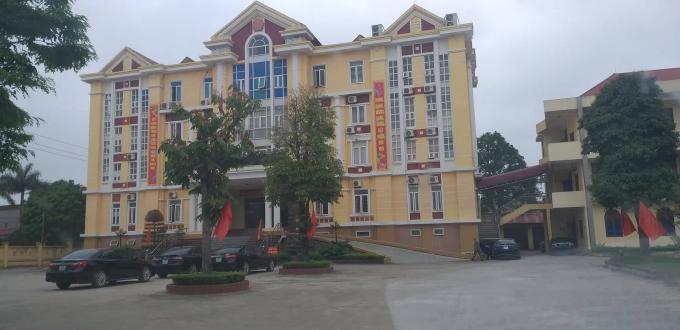 UBND huyện Hậu Lộc nơi xảy ra nhiều sai phạm cần sự vào cuộc của Tỉnh ủy, UBND tỉnh Thanh Hóa.