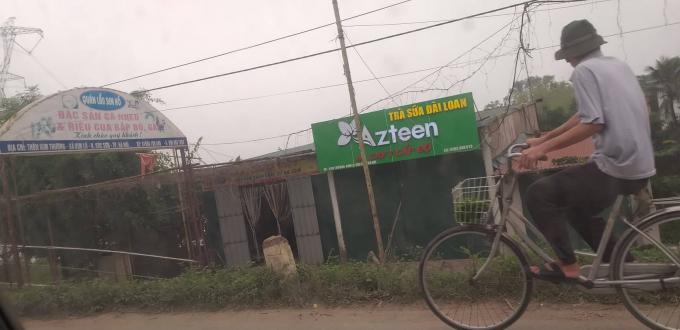 Công trình xây dựng làm nhà hàng của ông Nguyễn Văn Kỹ.