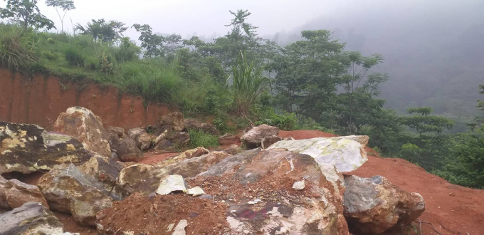Khối lượng đá lên tới hàng trăm tấn giá trị lên tới gần 1 tỷ đồng.