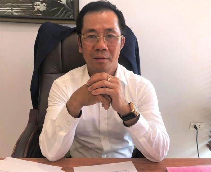 """Phó Tổng Giám đốc HDTC Hồ Văn Hải: """"Việc triển khai dự án An Phú - An Khánh không chỉ làm đẹp cho bộ mặt đô thị TP HCM mà còn tạo công ăn việc làm cho nhiều lao động""""."""