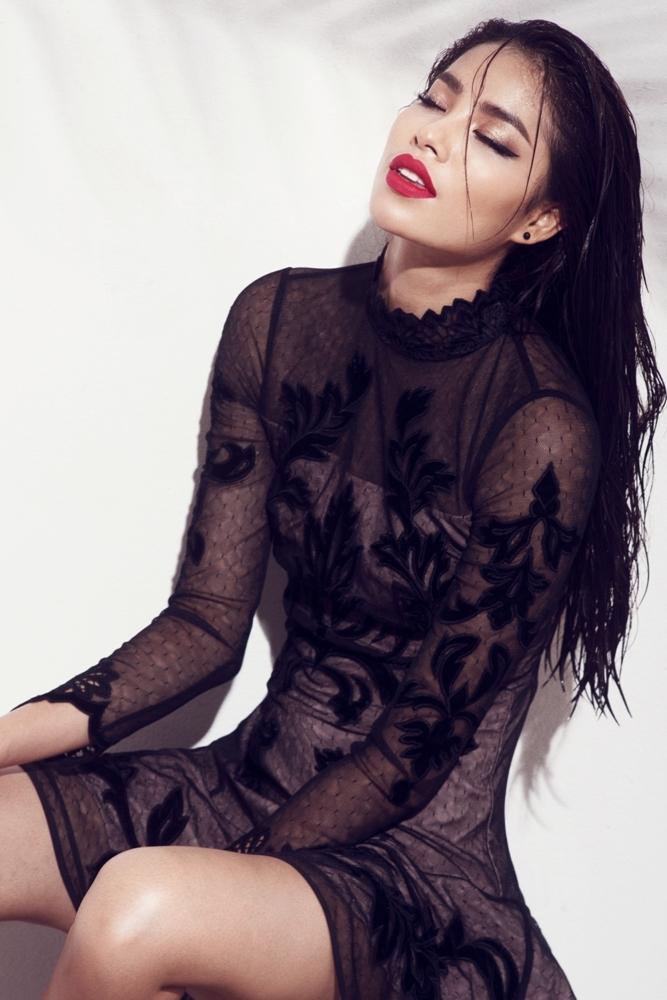 Hoa hậu Phạm Hương cá tính và hoang dại trong bộ ảnh mới