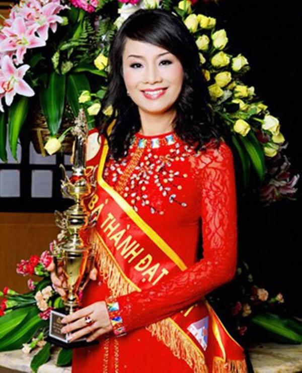 Hoa hậu Quý bà Trương Thị Tuyết Nga.