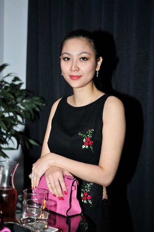Hình ảnh hiếm hoi của Hoa hậu Phan Thu Ngân xuất hiện trong sự kiện gần đây.