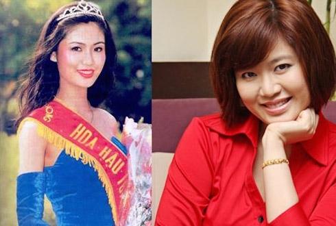 Hoa hậu Thu Thủy ngày ấy – bây giờ.