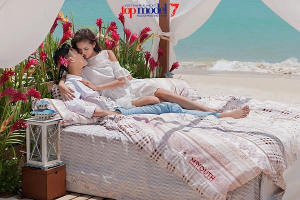 Một lần nữa, thử thách chụp ảnh với nội dung quảng cáo cho một thương hiệu đã giúp Ngọc Châu chiến thắng trong tập 9.