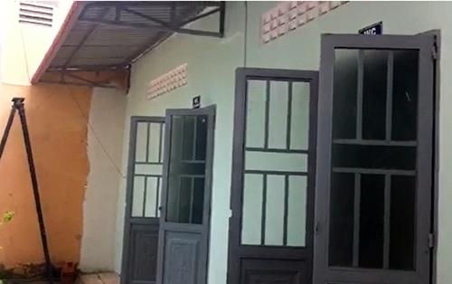 Nhà vệ sinh 600triệu đồng tại trường tiểu học Giai Xuân 3, huyện Phong Điền. Ảnh:Cửu Long.