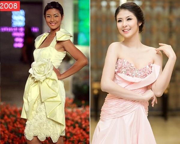 Bắt đầu sự nghiệp người mẫu từ năm 16 tuổi, Đặng Thị Ngọc Hân từng giành nhiều giải thưởng:Miss Icon Hoa học trò 2005, Gương mặt ăn ảnhcuộc thi Người mẫu Việt Nam 2006...