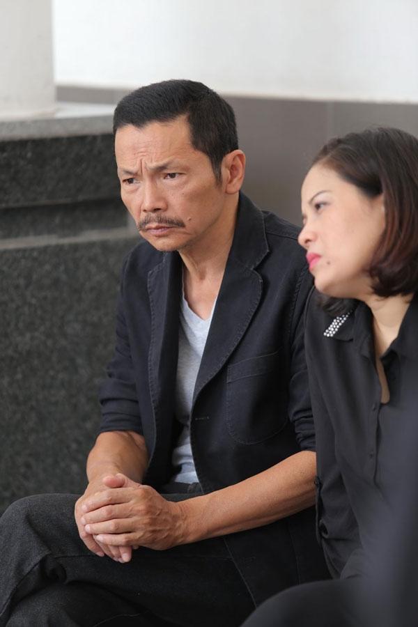 Nghệ sĩ Trung Anh và nghệ sĩ Hồ Liên. Ảnh: vietnamnet.