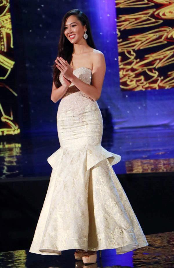 Trương Thị Diệu Ngọc tại cuộc thi Hoa hậu thế giới 2016.