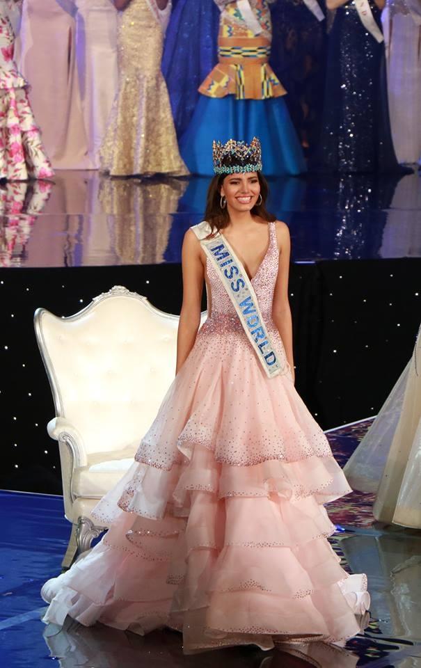 Tân hoa hậu thế giới - Stephanie Del Valle của Puerto Rico.