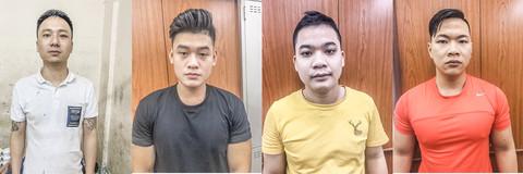 Nguyễn Văn Triển, Huỳnh Việt An, Nguyễn Đức Hai và Nguyễn Thành Khương.