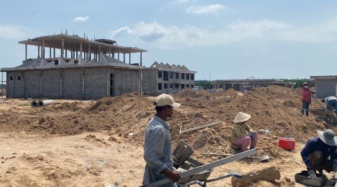 Khu tái định cư sẽ sớm hoàn thành sẽ đáp ứng nhu cầu an cư của người dân Suối Trầu