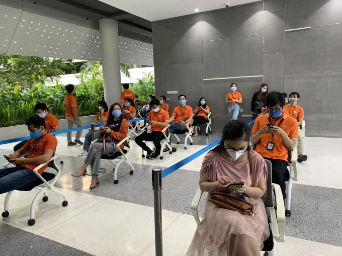 500 nhân viên tại Khu Công nghệ cao TP.Thủ Đức mở đầu chiến dịch tiêm chủng lớn nhất lịch sử