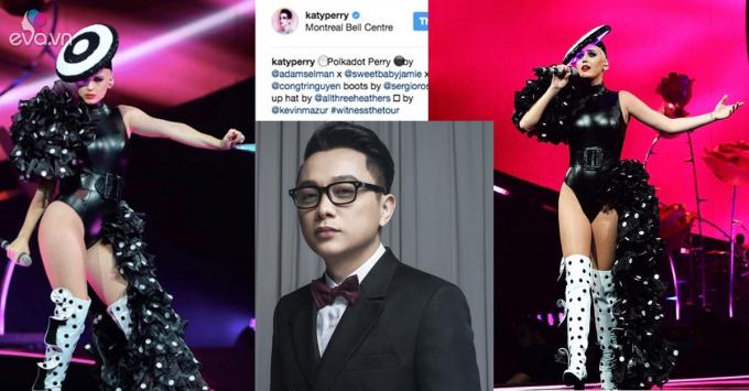 Thời trang Plus số 30 (24/9) : Nữ ca sĩ nổi tiếng Katy Perry với trang phục của NTK Nguyễn Công Trí