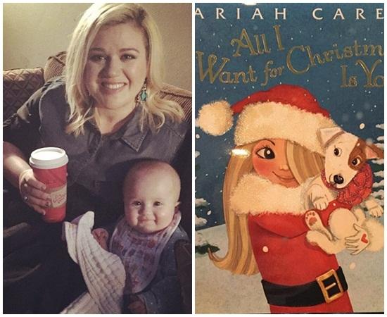 Ca sĩ Kelly Clakson dành tặng món quà nhỏ cho con gái Rose 18 tháng tuổi. Kỳ nghỉ lễ cô dành tất cả thời gian yêu thích để đọc sách và nghe những bài hát Giáng sinh.