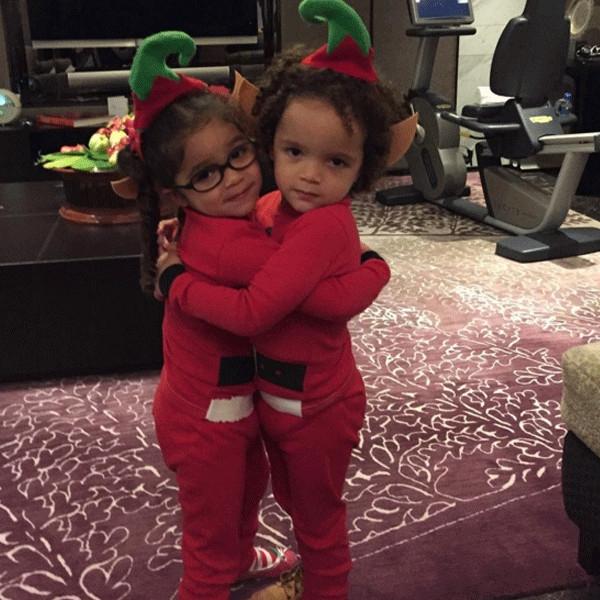 Mariah Carey có những ngày nghỉ hạnh phúc bên 2 cặp song sinh của mình.