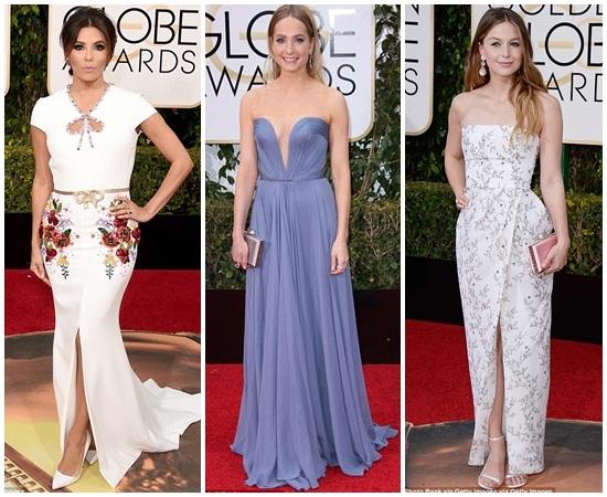 3 người đẹp Eva Longoria, Joanne Froggatt,Melissa Benoist.