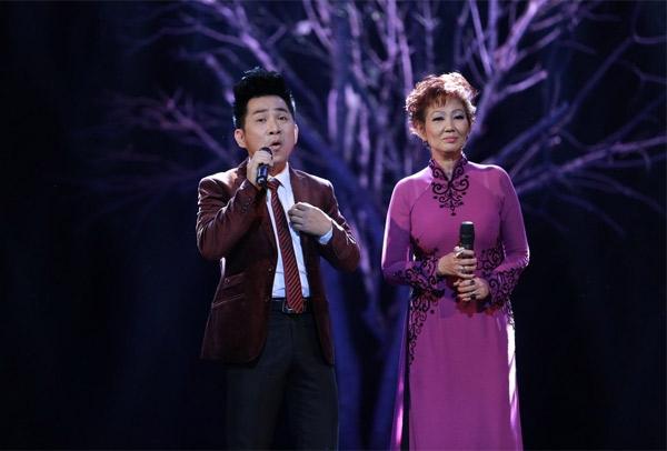 Hai ngôi sao hải ngoại Quang Thành và Kim Anh.