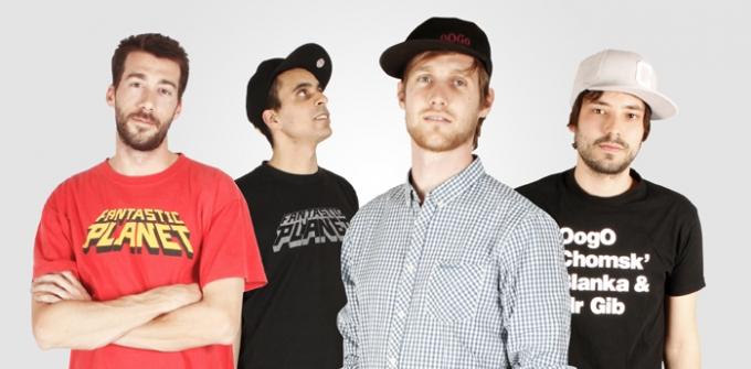 4 chàng trai nhómNhóm nhạc Pháp La Fine Equipe.