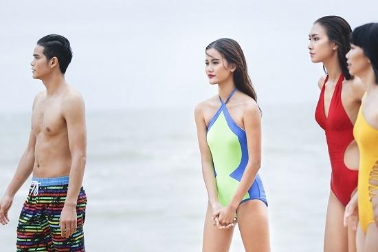 Quán quân Vietnam's Next top model Hương Ly.