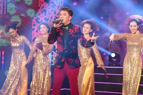 Ngọc Sơn, Đàm Vĩnh Hưng nhảy tưng bừng trong đêm nhạc mừng năm mới