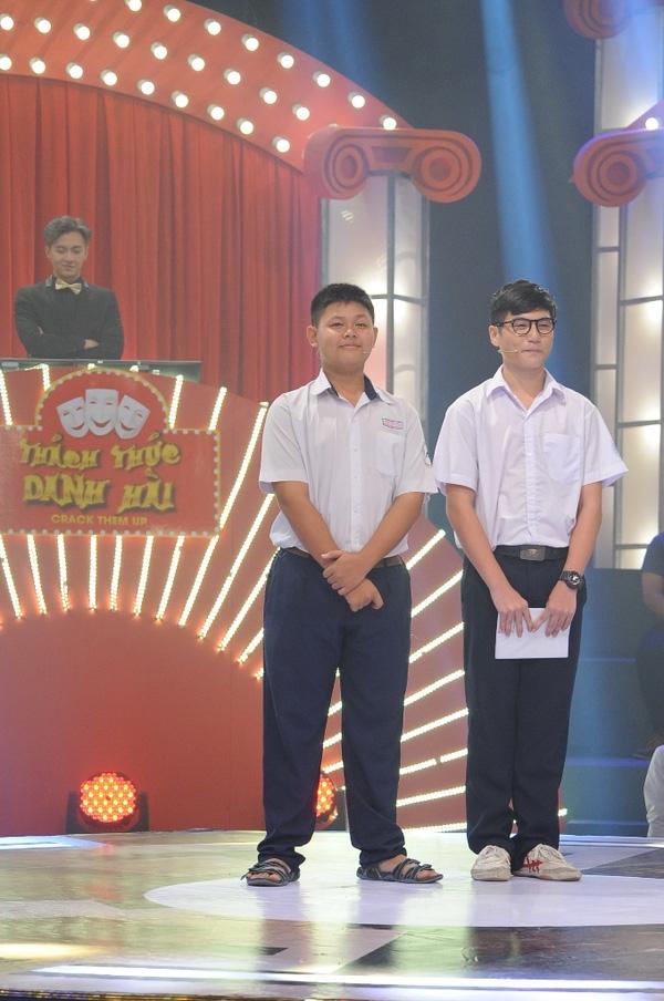 Quang Huy và Chí Kiệt.