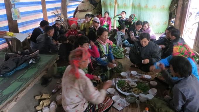 Phong tục đón Tết của người H'Mông ở bản Lềnh - Văn Chấn -Yên Bái