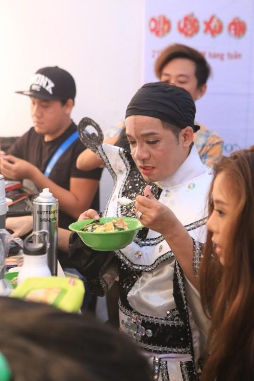 Thu Trang, Minh Nhí ăn uống khá đơn giản.