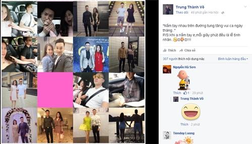 Diễn viên Thành Trung chia sẻ loạt ảnh hạnh phúc bên bạn gái và lời tỏ tình lãng mạn: