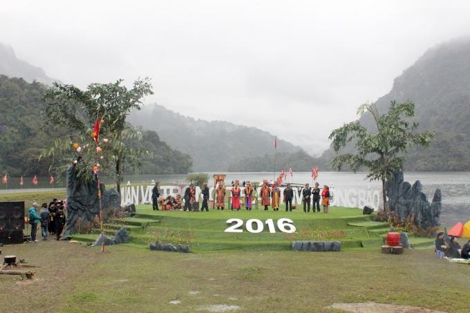 Hội Xuân Ba Bể 2016.